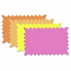 "Fluorescent Colors Custom Paper Signs - 1 Each - 6.4"" Width x 10.1"" Height - Rectangular Shape - Sturdy, Durable - Paper - Fluorescent Orange, Fluorescent Pink, Fluorescent Yellow, Fluorescent L"