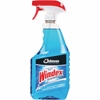Windex Powerized Glass Cleaner Spray - Foam Spray - 0.25 gal (32 fl oz) - Ammonia Scent - 12 / Bottle - 1 / Each - Blue