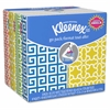 "Kleenex Go Pack Tissue - 3 Ply - 8.60"" x 8.30"" - White - Soft, Absorbent - For Face - 8 / Pack"