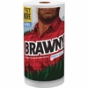 Brawny Industrial Pick-a-size Paper Towels - 2 Ply - 102 Sheets/Roll - White - Paper - Soft, Durable, Absorbent, Perforated - For Kitchen - 102 / Roll