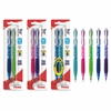 Icy Mechanical Pencil - #2, HB Lead Degree (Hardness) - 0.7 mm Lead Diameter - Refillable - Assorted Lead - Assorted Barrel - 2 / Pack