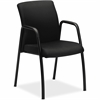 "HON Ignition Guest Chair - Fabric Seat - Steel Frame - Four-legged Base - Black - 19"" Seat Width x 18"" Seat Depth - 24"" Width x 22"" Depth x 34.5"" Height"