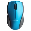 "Wireless Optical Mouse, 2.4G, 2-1/8""x4-3/4""x1-1/8"", Blue - Laser/Optical - Wireless - Radio Frequency - Blue - USB - 1600 dpi - Scroll Wheel - 3 Button(s)"