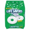 Wrigley Flavia Life Savers Wint-O-Green Mints - Wintergreen - Individually Wrapped - 3.12 lb - 1 / Bag