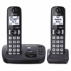 Panasonic KX-TGD222N DECT 6.0 1.90 GHz Cordless Phone - Champagne Gold - Cordless - 1 x Phone Line - 1 x Handset - Speakerphone - Answering Machine - Hearing Aid Compatible - Backlight