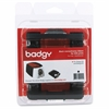 Badgy100 & 200 Black Ribbon - Thermal Transfer - 500 Card - 1 Each