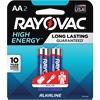 Rayovac Alkaline AA Batteries - AA - Alkaline - 2 / Pack
