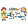 Bulletin Board Set - Theme/Subject: Learning - Skill Learning: Community - 41 Pieces - 4-8 Year