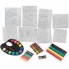 ChenilleKraft Colossl Fine Art Embossed Paper Kit - Art - 1 Set - Assorted