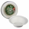 StalkMarket AseanSugarcane Fiber Disposable Bowls - 11.5 fl oz Bowl - Sugarcane Fiber - Disposable - Microwave Safe - 300 Piece(s) / Carton