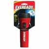Eveready LED Economy Flashlight - D - PolypropyleneCasing - Red