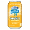 Exotics Mango/Peach Sparkling Water - Mango, Peach Flavor - 12 fl oz - Can - 8 / Box