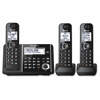 KX-TGF343B DECT Cordless Phone - Black - Cordless - 1 x Phone Line - Speakerphone - Answering Machine - Hearing Aid Compatible