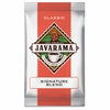 DS Services Javarama Signature Blend Coffee Packs - Caffeinated - Signature Blend - 24 Packet - 24 / Carton