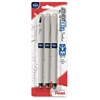 Pentel EnerGel Tradio Pearl Liquid Gel Pens - Medium Point Type - 0.7 mm Point Size - Conical Point Style - Refillable - Blue Gel-based Ink - Pearl Barrel - 3 / Pack