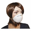 ProGuard Disposable Nontoxic Dust Mask - Dust, Pollen Protection - Polypropylene - White - 50 / Box