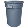 "Gator 10-gallon Container - 10 gal Capacity - Rectangular - 17"" Height x 16"" Width - Polyethylene Resin, Plastic - Gray"