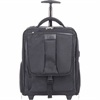 "Bond Street Carrying Case (Rolling Backpack) for 15.6"" Notebook, Travel Essential - Black - Ballistic Nylon - Shoulder Strap, Handle - 18"" Height x 15"" Width x 9"" Depth"