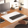 "Full Color Desk Pad - Rectangle - 36"" Width x 20"" Depth - PVC Vinyl - White"