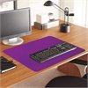 "ES Robbins Color Pop Desk Pad - Rectangle - 36"" Width x 20"" Depth - PVC Vinyl - Purple"