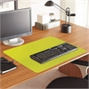"Full Color Desk Pad - Rectangle - 36"" Width x 20"" Depth - PVC Vinyl - Green"