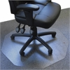 "Cleartex Ultimat 9Mat Chair Mat for Hard Floors - Home, Hard Floor, Wood Floor, Office, Carpet - 39"" Length x 38"" Width - Polygon - Polycarbonate - Clear"
