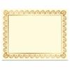 Geographics Laser/Inkjet Gold Foil Certificate - Laser, Inkjet Compatible - Gold