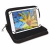 "Carrying Case (Pouch) for Tablet, iPad mini - Black - 9"" Height x 11.8"" Width x 1.3"" Depth"