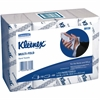 "Kleenex Cleaning Towel - 1 Ply - 9.20"" x 9.40"" - Blue, White - Soft, Absorbent, Multi-fold - For Hand - 150 Sheets Per Bundle - 16 / Carton"
