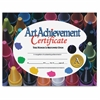 "Flipside Art Achievement Certificate - 11"" x 8.50"" - Laser Compatible - Assorted30 / Pack"