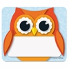 Colorful Owl Name Tags - Learning Theme/Subject - 40 Owl - Self-adhesive - Multicolor - 40 / Pack