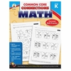 Carson-Dellosa Common Core Connections Gr K Math Workbook Education Printed Book for Mathematics - Book - 96 Pages