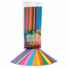 "Non-gummed Bright Chain Strips - 180 Piece(s) - 1"" x 8"" - 1 Pack - Bright Assorted"