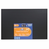 "Chalk Foam Boards - 30"" (2.5 ft) Width x 20"" (1.7 ft) Height - Black Foam Board Surface - Rectangle - 2 / Pack"