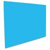 "Neon Color Foam Boards - 20"" x 187.5 mil x 30"" - 10 / Carton - Neon Blue - Foam, Polystyrene"