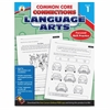 Carson-Dellosa CCC Grade 1 Language Arts Workbook Learning Printed Book for Art - English - Book - 96 Pages