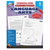 Carson-Dellosa CCC Grade 2 Language Arts Workbook Learning Printed Book for Art - English - Book - 96 Pages