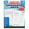 Carson-Dellosa CCC Grade 4 Language Arts Workbook Learning Printed Book for Art - English - Book - 96 Pages