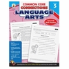 Carson-Dellosa CCC Grade 5 Language Arts Workbook Learning Printed Book for Art - English - Book - 96 Pages