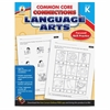 Carson-Dellosa CCC Grade K Language Arts Workbook Learning Printed Book for Art - English - Book - 96 Pages