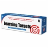 Carson-Dellosa Learning Targets and Essential Questions Pocket Chart Cards - Theme/Subject: Learning - Skill Learning: Art, Mathematics, Language, Question - 109 Pieces - 5-6 Year