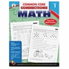 Carson-Dellosa Common Core Connections Gr 1 Math Workbook Education Printed Book for Mathematics - Book - 96 Pages