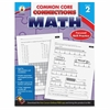 Carson-Dellosa Common Core Connections Gr 2 Math Workbook Education Printed Book for Mathematics - Book - 96 Pages