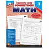 Carson-Dellosa Common Core Connections Gr 3 Math Workbook Education Printed Book for Mathematics - Book - 96 Pages