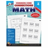 Carson-Dellosa Common Core Connections Gr 4 Math Workbook Education Printed Book for Mathematics - Book - 96 Pages