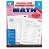 Carson-Dellosa Common Core Connections Gr 5 Math Workbook Education Printed Book for Mathematics - Book - 96 Pages
