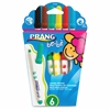 Prang be-be Jumbo Markers - Assorted - 6 / Set