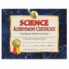 "Flipside Science Achievement Certificate - 11"" x 8.50"" - Laser Compatible - Assorted30 / Pack"