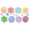 Snowflake Embossed Paper Set - 24 Piece(s) - 24 / Set - Paper