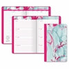 At-A-Glance Paper Marbling Tapebound Planner - Julian - Weekly, Monthly, Daily - 1 Year - January 2017 till December 2017 - 1 Week Double Page Layout - Tapebound - Assorted - Bookmark Ruler, Tabbed, N